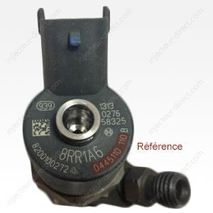 Emplacement référence injecteur Bosch