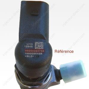 Emplacement référence injecteurs Siemens-VDO