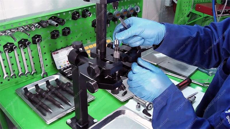 Réparation injecteur atelier
