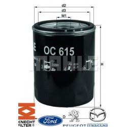 Filtre à huile KNECHT FILTER - OC 615