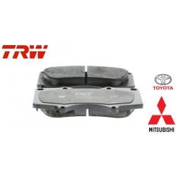 Jeu de 4 plaquettes de frein (plaquette de frein) TRW - GDB3364
