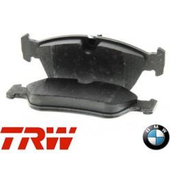 Jeu de 4 plaquettes de frein (plaquette de frein) TRW - GDB1625