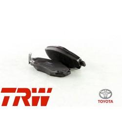 Jeu de 4 plaquettes de frein (plaquette de frein) TRW - GDB3336