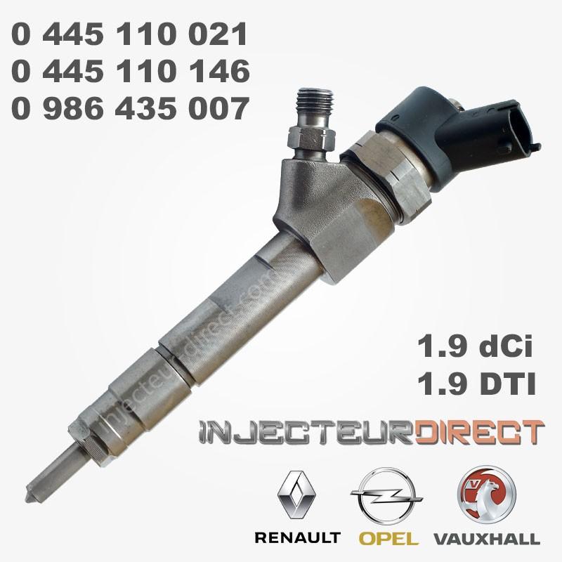 RENAULT 1.9 DCi Diesel Injecteur 0445110021 0445110146