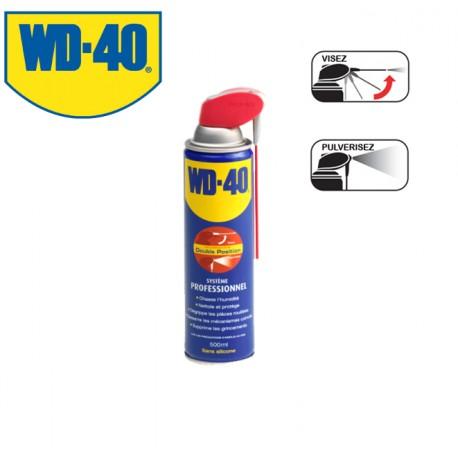 Dégrippant lubrifiant WD40 Système professionnel 500ml