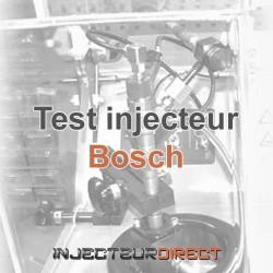 Test injecteur BOSCH