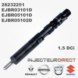 Injecteur DELPHI EJBR05102D