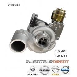 TURBO GARRETT 708639 RENAULT NISSAN 1.9 DCI
