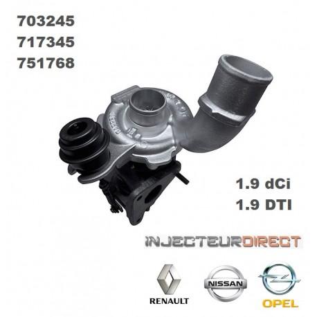 TURBO GARRETT 703245 1.9 DCI/DTI
