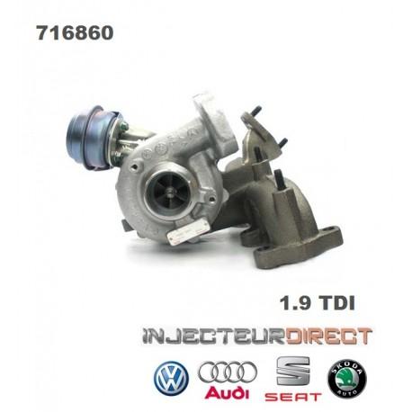 TURBO GARRETT 716860 1.9 TDI 130 CV
