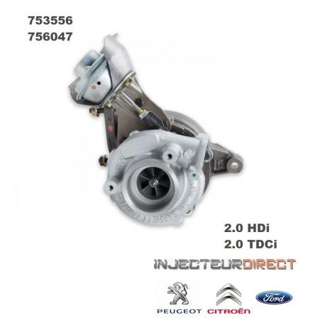 TURBO GARRETT 753556 2.0 HDI/TDCI