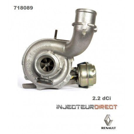 TURBO GARRETT 718089 RENAULT 2.2 DCI