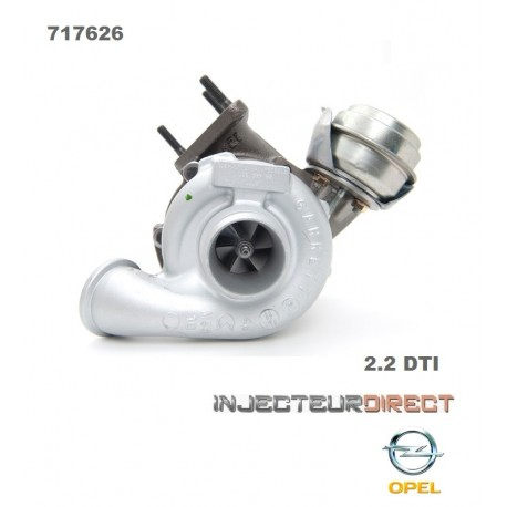 TURBO GARRETT 717626 2.2 DTI 125 CV