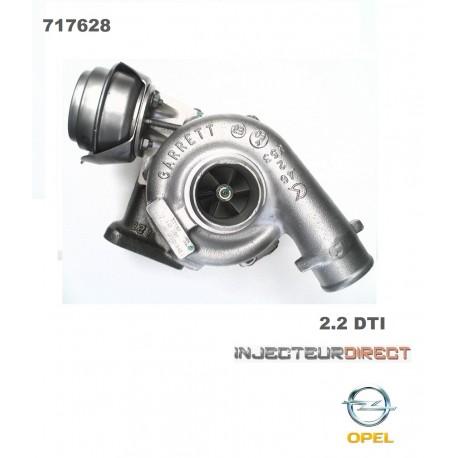 TURBO GARRETT 717628 OPEL 2.2L D 125 CV