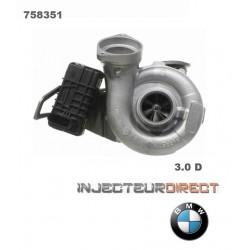 TURBO GARRETT 758351 BMW 530d 730d