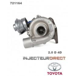 TURBO GARRETT 721164 TOYOTA 2.0 D 4D