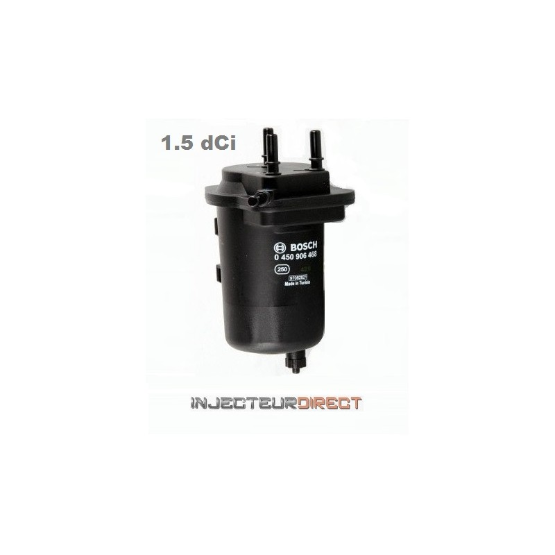 filtre carburant diesel 1 5 dci 0450907013 injecteur. Black Bedroom Furniture Sets. Home Design Ideas