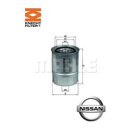 filtre carburant knecht filter kc236 injecteur direct. Black Bedroom Furniture Sets. Home Design Ideas