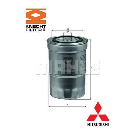 filtre carburant knecht filter kc208 injecteur direct. Black Bedroom Furniture Sets. Home Design Ideas