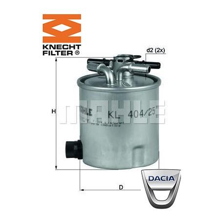 filtre carburant knecht filter kl404 25 injecteur direct. Black Bedroom Furniture Sets. Home Design Ideas