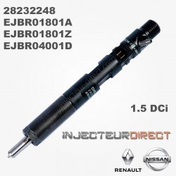 Injecteur DELPHI EJBR01801A